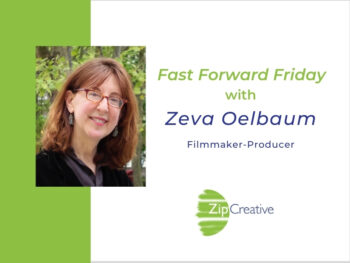 Fast Forward Friday interview with Zeva Oelbaumo with Joanne Zippel for Zip Creative | Photo: Letters From Baghdad — London Premieres