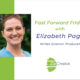 Fast Forward Friday interview with Elisabeth Page with Joanne Zippel for Zip Creative